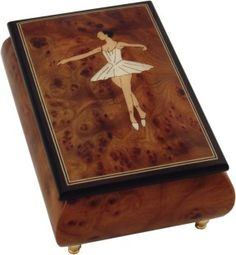 N J Dean musical box- the ultimate ballerina musical box!
