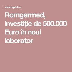 Romgermed - Capital