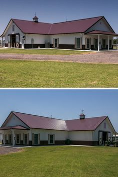 45 Durable & Beautiful Steel Homes That You Have To See - House Topics Residential Steel Buildings, Metal Buildings, Metal Building Homes, Building A House, Steel Homes, Steel Frame House, Living Spaces, Safe Place, Shed