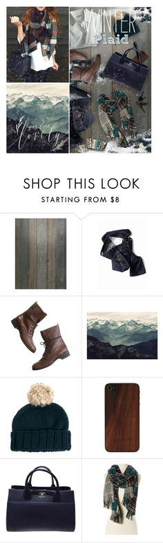 """Winter Plaid"" by kearalachelle ❤ liked on Polyvore featuring NLXL, Built by Wendy, Madewell, ASOS, Palila, Chanel, Trilogy, Rapti, Accessorize and lovefromabove"