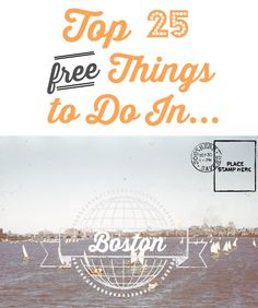 Top 25 FREE Things to do in Boston - Southern Savers