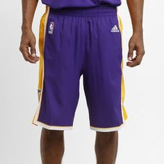 Bermuda Adidas NBA Signature Los Angeles Lakers Road - Roxo