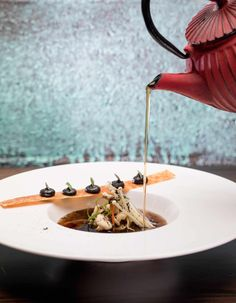 Mushroom Consommé- By Chef Nelly Robinson
