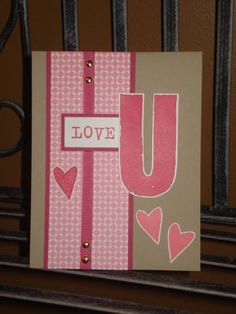 Love U by megala3178 - Cards and Paper Crafts at Splitcoaststampers