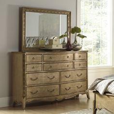 Homelegance Chambord 10 Drawer Dresser with Mirror