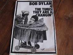 Magazine TELEMOUSTIQUE - Bob DYLAN  The times they are a changin