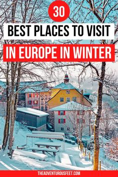 Looking for where to go in Europe to enjoy a snowy winter? Here are the best places to visit in Europe in winter.| best places to travel in Europe winter| best places in Europe in winter| Europe in winter places to visit| European places to visit in winter| Europe winter bucket list| best winter destinations in Europe| winter travel destinations in Europe| cheap Europe destinations winter| Europe during winter places to visit| Europe travel winter beautiful places