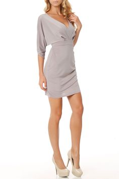 Lucy Dress in Gray