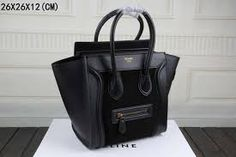 Cèline Luggage Bag in Black: I'll always love this bag <3