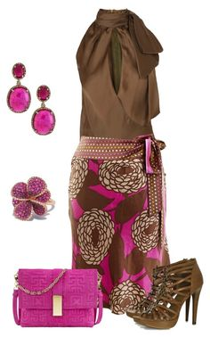 Brown+Fucsia