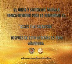 #Anunciandovirtudes...  // EL ÚNICO Y SUFICIENTE MENSAJE PARA LA HUMANIDAD:   ''JESÚS Y LA SALVACIÓN''...  DESPUÉS DE ESTO LO DEMÁS ES PURA AÑADIDURA...//   POR TANTO ANUNCIEMOS EL REINO DE DIOS Y SU JUSTICIA...SOLO ASÍ ALCANZAREMOS MAS VIDAS PARA JESÚS...   RECORDEMOS LAS PALABRAS DEL MISMO JESÚS...CUANDO DIJO:  Por tanto os digo: No os afanéis por vuestra vida, qué habéis de comer o qué habéis de beber; ni por vuestro cuerpo, qué habéis de vestir. ¿No es la vida más que el alimento, y el…