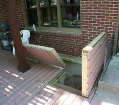 Beyond The Basement Door. The Perfect Set Of Doors To Cover That Horribly Tricky Basement Stairwell This Will Keep