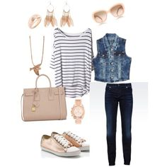 rocking rose gold, created by jessicayoung-iii on Polyvore