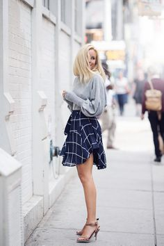 Flowy skirts for spring