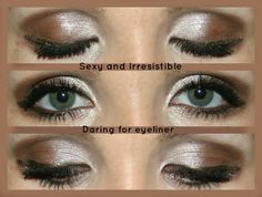 Fast and Easy Look with Younique Mineral Pigment Powders - Sexy, Irresistible and Daring, plus Moodstruck 3D Fiber Lashes www.youniqueproducts.com/chrissyhenige