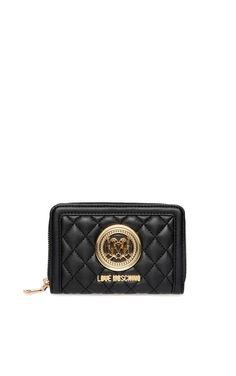 Plånbok JC5500 BLACK/GOLD - Love Moschino - Designers - Raglady