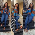 Top Ten Ankara Top and Trouser Styles For Ladies Unique Ankara Styles, Latest Ankara Styles, African Clothes, African Fashion Dresses, Ankara Tops, Afro Style, Ankara Fabric, Africans, African Design