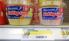 Target: Reynolds Pastel Baking Cups, 50 ct Only $0.59 + No Coupons Needed! - http://wp.me/p56Eop-Kt6