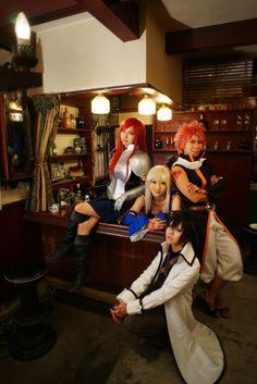 Team Natsu Cosplay (Fairy Tail) Natsu Cosplay, Fairy Tail Cosplay, Cosplay Anime, Fairy Tail Anime, Cosplay Outfits, Cosplay Ideas, Cosplay Costumes, Awesome Cosplay, Best Cosplay