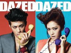 Se7en and Girls' Generation's Jessica for Dazed Korea. Yes please <3