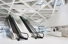 Porsche Museum - Escalators