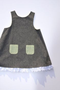Hey, I found this really awesome Etsy listing at https://www.etsy.com/listing/120867169/sale-girls-dress-baby-pinafore-grey