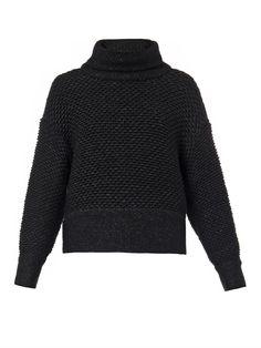 Helmut Lang Opacity chunky-knit sweater