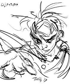 らくがきI decided to upload lots of random doodles. ~-Bahi JD