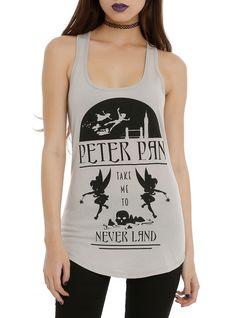 Disney Peter Pan Take Me To Neverland Girls Tank Top   Hot Topic