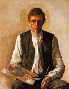 Giorgio Morandi  #self #portrait
