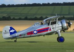 Gloster Aircraft  Company Limited Gladiator 11,G-GLAD.Operator:The Fighter Collection.Manufacture:1939.Bristol Mercury XX.Scheme:72 Sqn.Gloster Gladiator (or Gloster SS.37) British-built biplane fighter.Used by RAF & Fleet Air Arm (Sea Gladiator) & exported to number of other air forces during late 1930s.RAF's last biplane fighter aircraft.Gladiator saw action in almost all theatres during Second World War,with a large number of air forces,some of them on the Axis side.