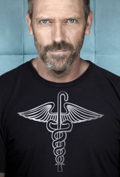 hugh laurie, my favorite doctor. <3