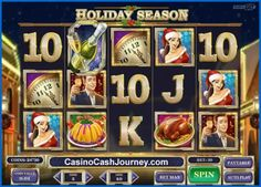 Holiday Season is a 10-line video slot from Play'n GO.  http://www.casinocashjourney.com/slots/playn-go/holiday-season.htm