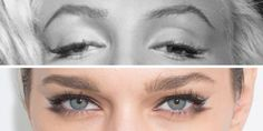 Marilyn Monroe Eyeliner Trick - How to Draw a New Cat Eye