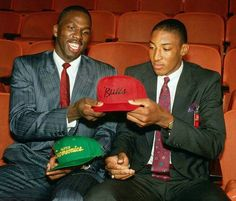 A draft day trade between the Seattle Supersonics and the Chicago Bulls resulted in the exchange of Olden Polynice and Scottie Pippen.