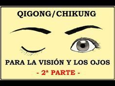 Qigong Para La Visión Y Los Ojos 2ª Parte Qigong Chikung Puntos De Presión