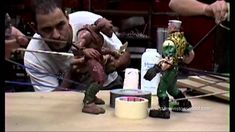 Small Soldiers being animated by animators during filming