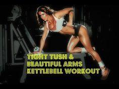 ▶ RyanRaw: Kettlebell Tight Tush & Beautiful Arms Workout 20min