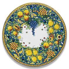 Ornato Round Platter  sc 1 st  Pinterest & Decorative plate 17