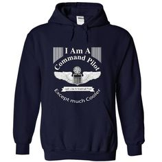 I Love I Am A Command Pilot Shirts & Tees