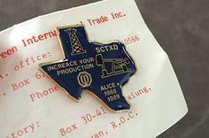 VINTAGE OPTIMIST CLUB PIN Alice TX ENAMEL Metal PIN Collectible 1988-1989