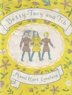 Second in the Betsy - Tacy series by Maud Hart Lovelace.  They meet Tib, who has curly blond hair and can dance, and lives in a chocolate brown house.  Sigh.