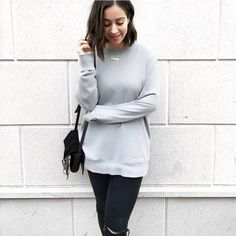 Loving this cozy fall look by @advinfashion, accessorized with our very own roman numeral necklace!