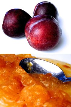 Confiture de prunes au rhum brun et à la vanille