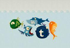Poissons réseaux sociaux