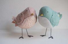 fabric birds patterns