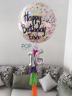 Globos Gigantes Manualidades En 2018 Pinterest Birthday Party - Globos-personalizados-cumpleaos