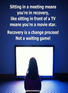 That is why they the steps. If you could just sit there then all they would need is chairs and that could happen in any room anywhere. We know it doesn't. addictioninthefamily.com Movie Stars, Addiction, Shit Happens, Tv, Memes, Chairs, Room, Bedroom, Television Set