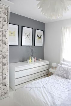 Awesome 76 Calm Gray Bedroom Color Ideas https://architecturemagz.com/76-calm-gray-bedroom-color-ideas/