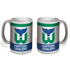 e453ac79a Hartford Whalers Vintage Ceramic Mug 15oz. w gift box Hartford Whalers